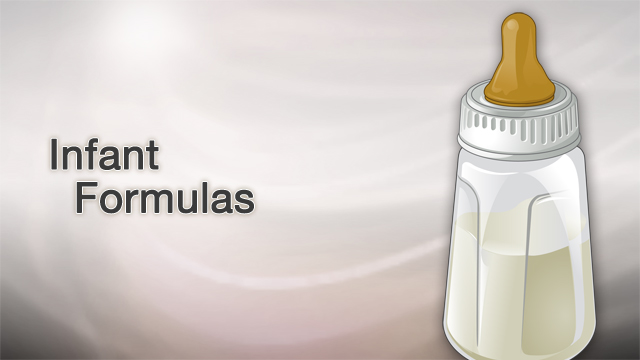<div class=media-desc><strong>Infant formulas</strong><p>Deciding to feed your baby breast milk or formula is a personal matter. If you do choose formula, it's designed to be a nutritional source of food for infants. Let's talk about infant formula. A variety of formulas are available for infants younger than 12 months old. Infant formulas vary in nutrients, calorie count, taste, ability to be digested, and cost. Standard milk-based formulas are made with cow's milk protein that has been changed to be more like breast milk. These formulas contain lactose and minerals from cow's milk, along with vegetable oils, minerals, and vitamins. </p></div>