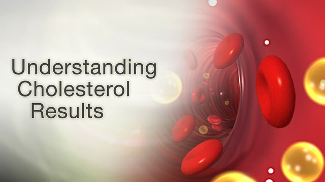 <div class=media-desc><strong>Understanding cholesterol results</strong><p>LDL cholesterol has gotten a bad reputation, and for very good reason. Having too much of this fatty substance in your blood can clog up your arteries, preventing blood from getting to your heart and out to where it's needed in your body. Checking your LDL levels can help your doctor spot high cholesterol before it can cause a heart attack or stroke. Let's talk today about LDL tests. LDL stands for low-density lipoprotein. Lipoprotein is a type of protein that transports cholesterol, as well as fats called triglycerides and lipids, in your blood. When you eat too many fatty, cholesterol-rich foods, LDL cholesterol can start to collect in your artery walls. That's one collection you don't want, because if a chunk of that gunk breaks loose and gets lodged in a blood vessel, you could end up having a heart attack or stroke. To check your LDL cholesterol level, you'll need to have a blood test. Your doctor may tell you not to eat or drink anything for 8 to 12 hours before the test, so you can get an accurate reading. During the test, your doctor will draw blood from one of your veins. The needle might sting a little bit, but the feeling shouldn't last for any more than a few seconds. So, how do you know that you have high LDL cholesterol? Well, your LDL cholesterol level (think L for Lousy) will usually be measured along with your HDL, or good cholesterol (think H for Healthy), as well as your triglycerides and your total cholesterol level. Together, these measurements are called a lipid panel. You want your LDL level to be at least below 130 mg/dl, but ideally less than 100 milligrams per deciliter. If you're at high risk of heart disease, it should be even lower than that - less than 70 milligrams per deciliter. And for folks of average risk of getting heart disease, anything over 160 is considered a high LDL level. If you do have LDL cholesterol, you could be at risk for heart disease. Now, some folks have high cholesterol because they have an inherited condition that causes high cholesterol. If your LDL is low, it may be because you're not eating a well-balanced diet or your intestines aren't absorbing the nutrients from the foods that you eat. Ask your doctor how often you should have your LDL, and total cholesterol levels, checked. Depending upon your heart disease risks, you may need to be tested more often. If your LDL cholesterol is high, ask your doctor about cholesterol-lowering medications, diet, and other ways to bring it back down into a normal range.</p></div>